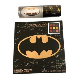 BATMAN Eye Shadow Palette & Lip Gloss Duo LIMITED EDITION